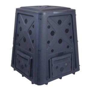 Redmon Black 65 Gal. Stationary Composter - Best Outdoor Compost Bins: Robust construction