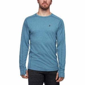 Black Diamond Solution 150 Merino Base Crew  - Best Base Layers for Heavy Sweating: Thermal Regulation Base Layer