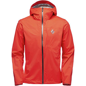 Black Diamond Fineline Stretch Rain Shell - Best Rain Jackets for Running: Light and Stretchy