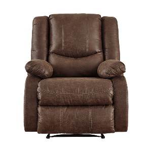Ashley Furniture Bladewood  - Best Recliners for the Money: Pull Tab Reclining Mechanism