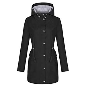 Bloggerlove Rain Jacket Women - Best Raincoats for Hiking: A raincoat as well as a fashion item