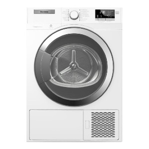 Blomberg DHP24412W Electric Dryer White - Best Compact Dryers: Save electricity