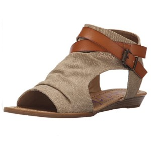Blowfish Malibu Women's Balla Wedge Sandal - Best Sandals for Wide Feet: Stylish Wedge Sandal