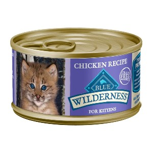 Blue Buffalo Wilderness High Protein Grain Free - Best Food for Cats with Diarrhea: Food with Real Beef Ingredient