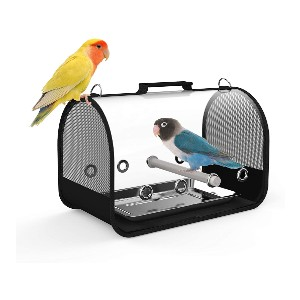 Blue Mars Bird Carrier - Best Bird Cages for Conures: Great for travel