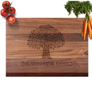 Blue Ridge Mountain Gifts Personalized Cutting Board - Best Cutting Boards for Raw Meat: Great gift!