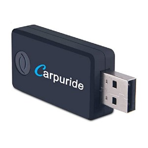 Carpuride Bluetooth Transmitter - Best Bluetooth Transmitter for Car: Space-saving with no battery