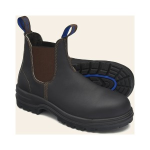 Blundstone CHELSEA BOOTS - Best Safety Work Boots: Leather Slip-On Boots