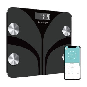 Bveiugn Smart Wireless Digital BMI Weight Scale - Best Weight Scale with BMI: It recognizes you instantly