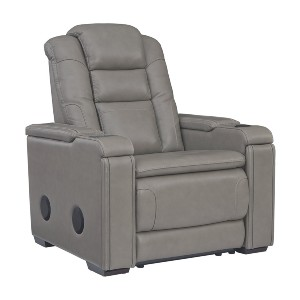 Ashley Furniture Boerna  - Best Recliners for Big and Tall: Corner-Blocked Frame with Metal Reinforced Seat