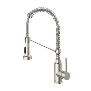 KRAUS Bolden KPF-1610SS - Best Pull Down Faucets: Easy-Clean Spray Nozzles