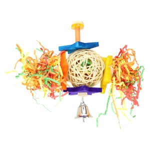 Bonka Bird Toys Foraging Star - Best Bird Toys for Conures: Encourage foraging and chewing
