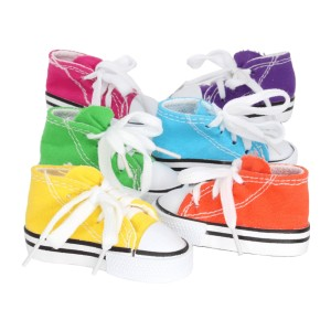 Bonka Bird Toys Sneakers Cotton Colorful Versatile  - Best Bird Toys for Parakeets: Real sneakers