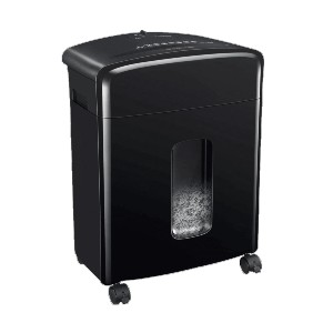 Bonsaii C220-A - Best Paper Shredders Under $100: Removable and Lockable Casters for Easy Mobility