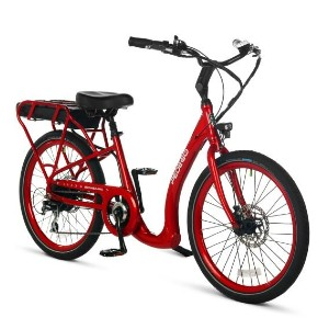 Pedego Boomerang - Low Step Electric Bike  - Best Electric Bike for Short Female: Ultra low!