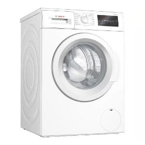 Bosch 300 Series Compact Washer 24'' 1400 RPM - Best Washing Machine for Pet Hair: It washes 40% faster