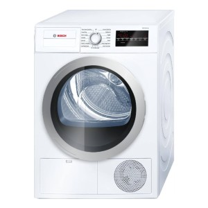 Bosch 500 Series WTG86401UC Electric Dryer White - Best Compact Dryers: Handle your laundry gently