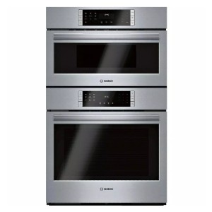 Bosch 800 Series 30 in. Combination Electric Wall Oven - Best High End Wall Oven: Ample space for any dishes