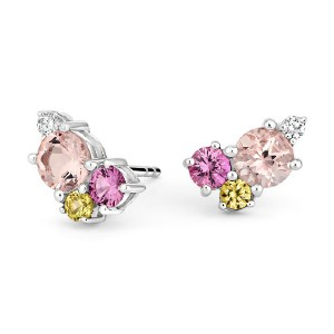 Brilliant Earth  Bouquet Earrings - Best Jewelry for 25th Wedding Anniversary: Eternal bouquet of love