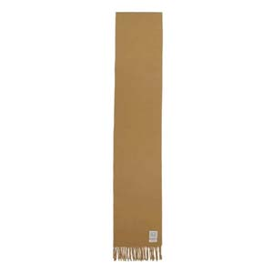 Totême 'Bova' scarf in tan - Best Scarves for Winter: Simple elegant scarf