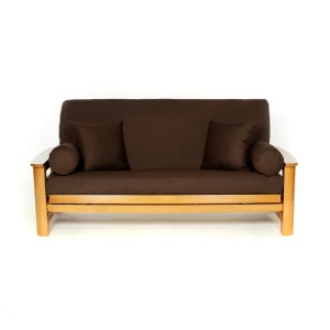 Red Barrel Studio® Box Cushion - Best Futon Covers: Made in the USA