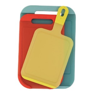 Brabantia Set of 3 Chopping Boards - Best Cutting Boards for Vegetables: Brighten your kitchen