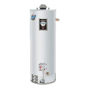 Bradford White 40 Gallon Natural Gas Water Heater - Best 40 Gallon Gas Water Heaters: Water Heater with Smart Features
