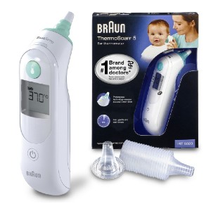 Braun ThermoScan 6 IRT6020 - Best Ear Thermometer for Baby: A complete package