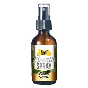 The Dirt Breath Spray - Best Mouth Spray for Dry Mouth: Friendly Diet Rich in Calcium, Magnesium