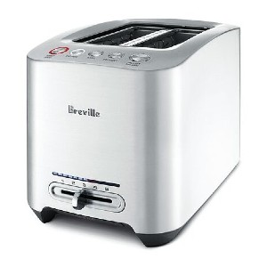 Breville Die-Cast 2-Slice Smart Toaster™ - Best Toaster Two Slices: Toaster with LED Screen