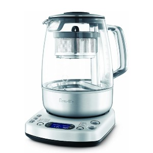 Breville Tea Maker - Best Electric Tea Kettle: Electric Kettle with LCD Display for Controling