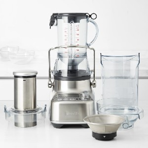 Breville 3X Bluicer Pro - Best Blender to Crush Ice: Brushed Stainless-Steel Housing