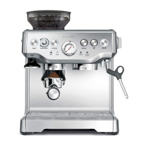Breville Barista Express Espresso Machine - Best Grinder and Coffee Maker: Dose-Control Grinding