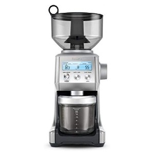 Breville Smart Grinder Pro Coffee Bean Grinder - Best Grinder and Coffee Maker: LCD Display Feature