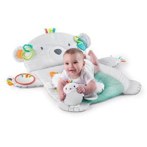 Bright Starts Tummy Time Prop & Play - Best Playmat for Tummy Time: Super adorable!