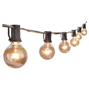 Brightown Outdoor String Lights  - Best Outdoor Patio Lights: Dimmable String Lights