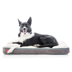 Brindle Soft Memory Foam Dog Bed - Best Dog Travel Beds: Lightweight and highly portable