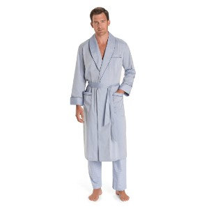 Brooks Brother Wrinkle-Resistant Chambray Robe - Best Robes for Men: Wrinkle-Resistant Robe