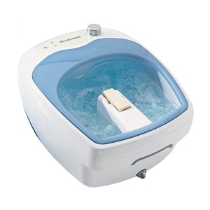 Brookstone Aqua-Jet Foot Spa - Best Foot Spa for Athletes: Extremely simple controls