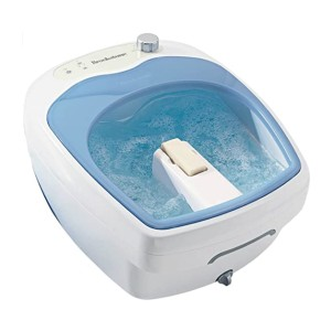 Brookstone Aqua-Jet Foot Spa  - Best Foot Spa for Big Feet: For a luxurious spa
