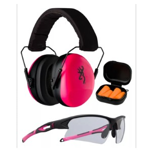 Browning Range Kit II For Ladies - Best Shooting Hearing Protection: Comfortable Noise Reduction