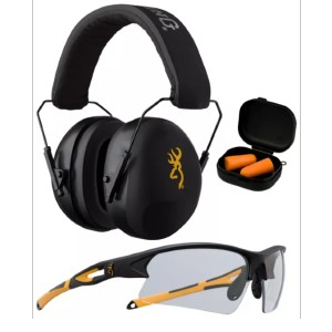 Browning Shooting Range Kit - Best Shooting Hearing Protection: All-In-One Range Protection Kit