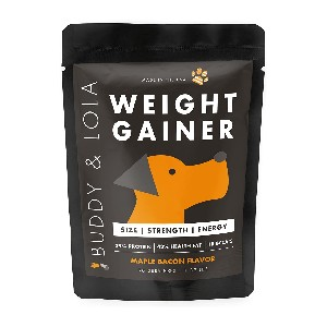 Buddy & Lola Weight Gainer for Dogs - Best Weight Gainer Dog Food: Formulated to Help Improve Muscle