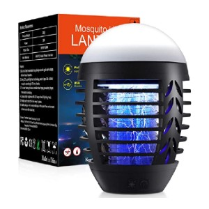 WAASII Electric Mosquito Zappers - Best Bug Zapper for Camping: For peaceful environment