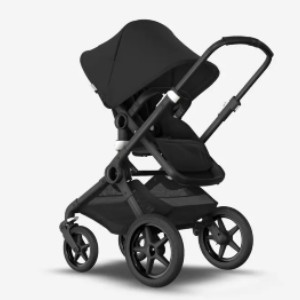 Bugaboo Fox 2 - PV001842 - Best Stroller for Baby: Leather-Look Grips
