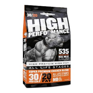 Bully Max High Performance Super Premium Dog Food - Best Dog Foods to Gain Weight: More Calories Dog Food
