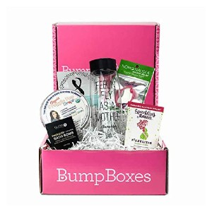 Bump Boxes 1st Trimester Pregnancy Gift Box - Best Gift for Expecting Mothers: Great for first trimester