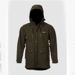 Bushbuck Big Four Jacket - Best Rain Jackets for Heavy Rain: Tall Collar for That Secure Fit on The Cold Days.