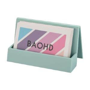 BAOHD Business Card Holder for Desk - Best Business Card Holders: Simple and Clean Looking
