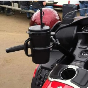 Butler Standard Driver Set for Motorcycle - Best Motorcycle Drink Holders: Using the Two-Bolt Factory Saddle Clamp
